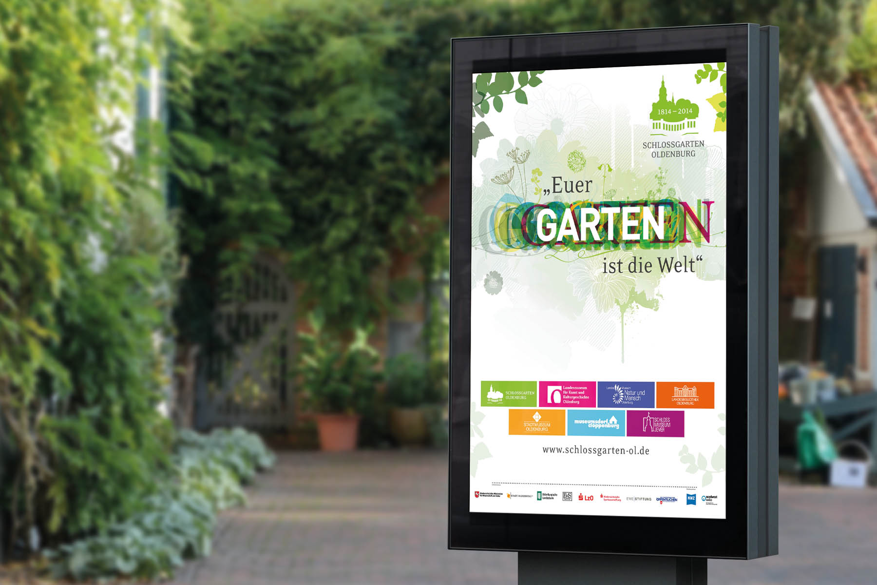 Schlossgarten Oldenburg | Plakat | Citylight