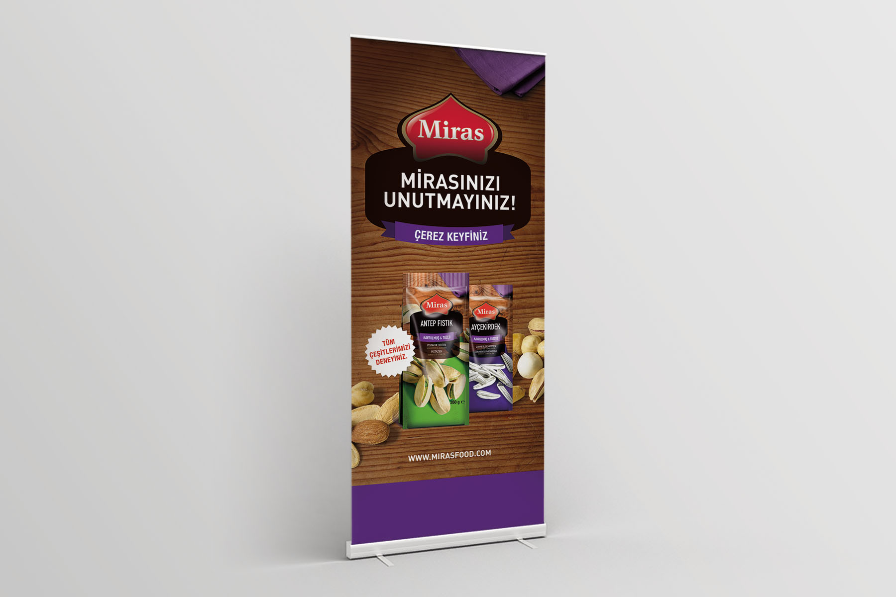 Took Food | Roll-Up-Banner